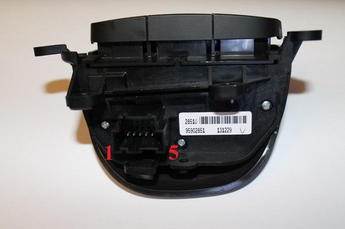 Шевроле Каптива С140. Переключатель круиз-контроля и климат-контроля 95902851